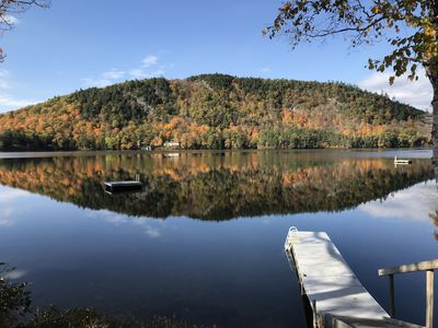Photo for Lake house w/ water & mtn views next door to SKIING-discounts for 7+ night stays