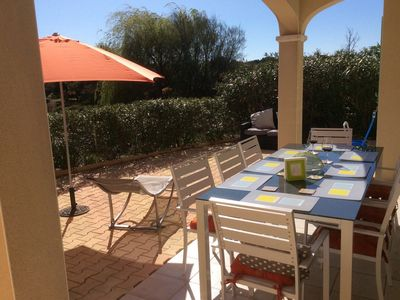 Photo for Villa on family friendly gated residence, Shared pool. Aircon, Free WIFI, UKTV