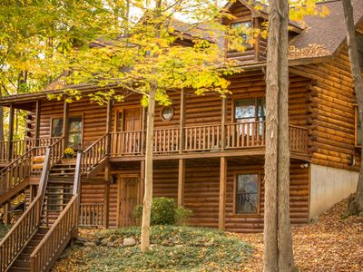 Photo for Nestled In The Woods Overlooking The Pearl Of The Finger Lakes!