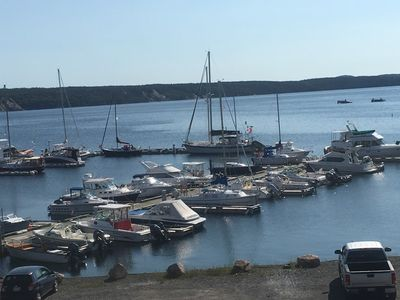 Photo for Marina View Manor #1 overlooking Clarenville Marina