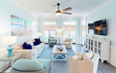 Park Place - 2 bedroom 2 bath newly renovated WaterColor condo with 2 bikes!