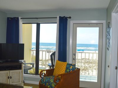 Photo for Affordable Condo With Beautiful Beach Views And Just Steps Away From The Beach.