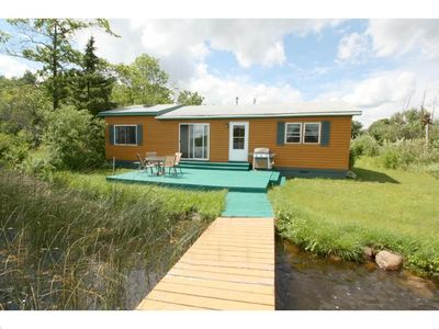 Photo for Quaint Rustic Cabin On Long Lake, Sleeps 7! Just 90 Mins North Of The Metro