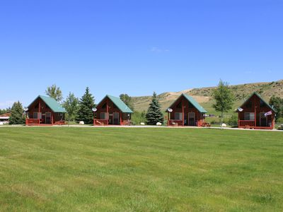 Photo for Ostrum Bunkhouse: #2 Cabin -Lena's Cozy Montana Cabins in the Heart of Montana