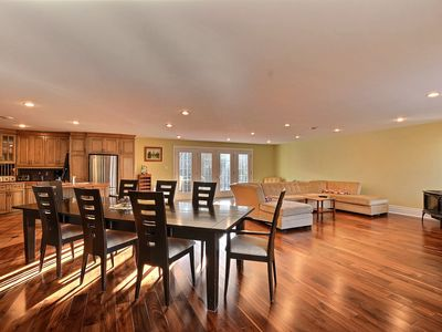 Photo for 15 min from the Mont Tremblant Ski Hills, Perfect for Families and Friends !