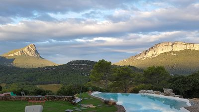 Photo for Villa in the south of France, exceptional setting, swimming pool, calm, wellness