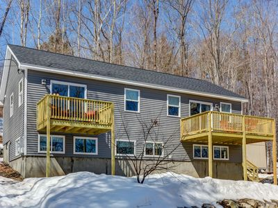 Photo for NEW LISTING! Brand New Home Walking Distance to Beaches. Pets Welcome! AC!