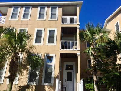 Photo for Nicely decorated three bedroom three and a half bath town home with elevator