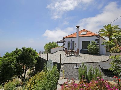 Photo for Beautiful sunny house with stunning mountain and sea view and exotic garden