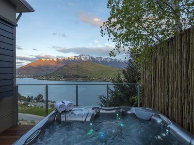Photo for Views on Tussock - luxury holiday home with hot tub and spectacular lake views