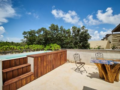 Photo for CAPRICE 6 - Sunny rooftop&tub&pool&grill