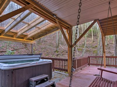 Photo for NEW! Luxury Asheville Home w/Game Room & Deck!
