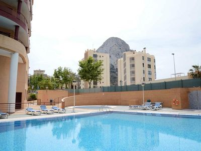 "Photo for Holiday rental apartment situated in Calpe (Costa Blanca), for maximum 4 people. Nice apartment, placed not far from the ""Cantal Roig"" beach and from the center of Calpe."
