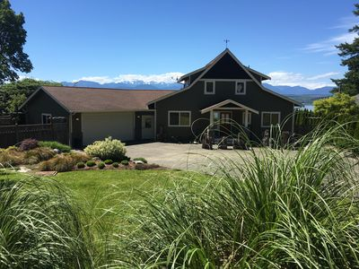 Photo for Poulsbo Waterfront Retreat w/ Hood Canal and Olympic mountain views