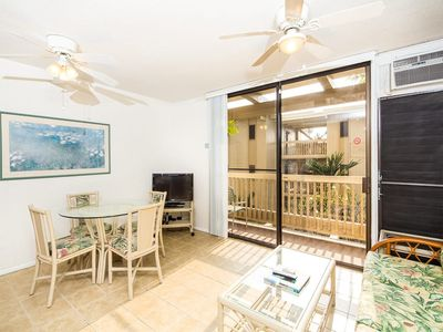 Photo for Casual Style w/Kitchen Updates, Lanai, Ceiling Fans, AC, WiFi–Kona Bali Kai 273