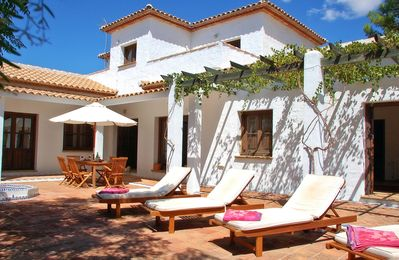 Photo for Stunning Villa With 10x5m Saline Pool, Gardens And Wonderful Views