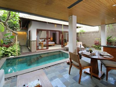 Photo for 1 Bedroom Villa in Quiet Area of Umalas, in the Middle of Seminyak and Canggu