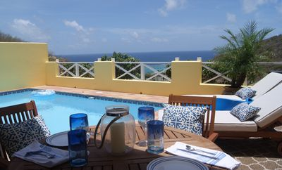 Photo for Luxury 1 Bedroom Villa - Private Pool Overlooks The Ocean