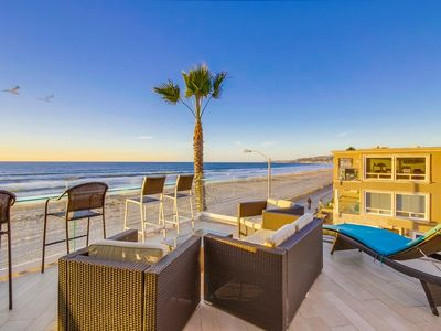 Photo for 2 Ocean Front Homes ☆ Penthouse+Ground Level ☆ A/C