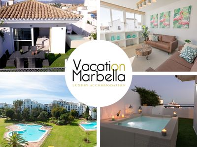 Photo for Nº 1 IN PUERTO BANUS, SEA VIEWS DUPLEX PENTHOUSE WITH PRIVATE HEATED POOL