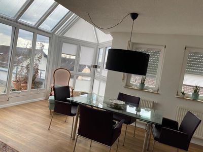 Photo for Beautiful Maisonette Apartment with Wi-Fi and Balcony; Parking Available