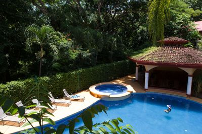 Lounge by our Tropical Pool