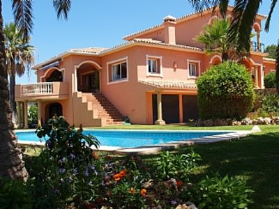 Photo for Luxury Villa With Stunning Views Over Bay Of Marbella, Mountains And Gibraltar