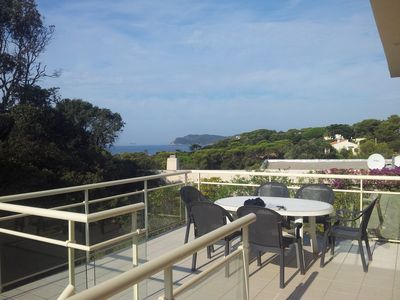 Photo for 1 luxury apartment on the sea peninsula of Giens in
