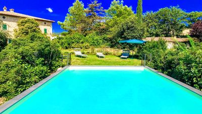 Photo for Huge country villa - sleeps 11, Aircon, Wifi, Exc Pool, dishwasher, private land