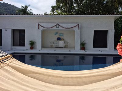 Photo for Golf (in Front Tee 11), Pool, Service, One Story, 4 Rooms, Internet, Palapa, Van