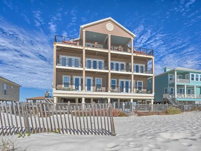 Photo for Beach Estate West Fort Morgan Gulf Front Vacation House Rental - Meyer Vacation Rentals