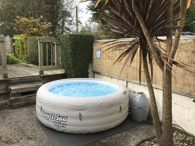 Enjoy a Hot tub during your stay for £20 setup and £10 per night