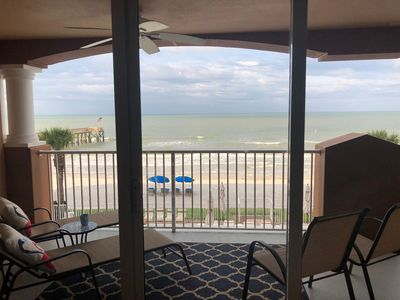Breathtaking views from the living room, on the patio, or on the beach!