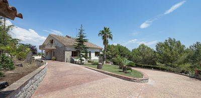 Photo for Luxury, 7/8bedroom/7bath villa with panoramic views, gardens, terraces, privacy