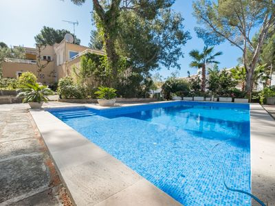 Photo for This 4-bedroom villa for up to 8 guests is located in Santa Ponsa and has a private swimming pool, a