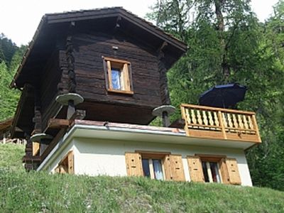 Photo for Zinal/Ayer, Romantic Chalet Cuckoo, Val d'Anniviers, between Verbier and Zermatt