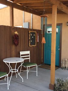 Front entrance to the Casita