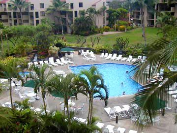 Kamaole Sands Pool area