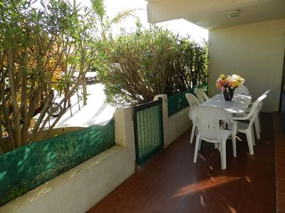 Photo for -20% - TWO PIECES 6 beds. AIR CONDITIONED. PRETTY TERRACE.