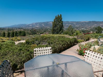 Photo for 1-Acre 3BR Hilltop Oasis w/ Ocean Views, 10 Mins to Santa Barbara & Beaches