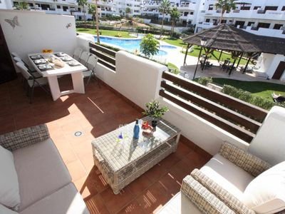 Photo for Casa Arena, large and nicely located apartment with communal swimming pool
