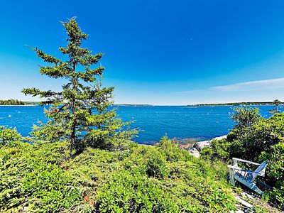 Bay Views - Stroll down your own private path to the water's edge for epic views of Linekin Bay.
