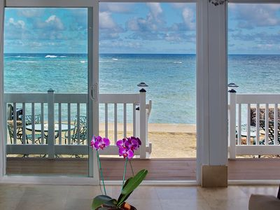 Photo for OCEANFRONT Beach House on the water! TVNC #5068