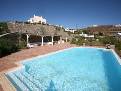 Photo for Villa Maria -Nefeli With Private Beach and Pool