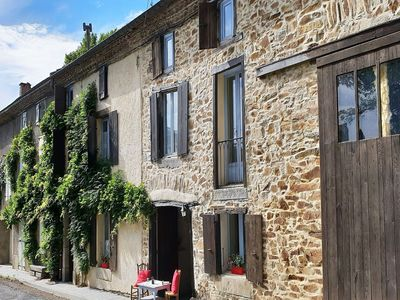 Photo for Cosy gite in a beautiful high location, with private swimming pool and garden