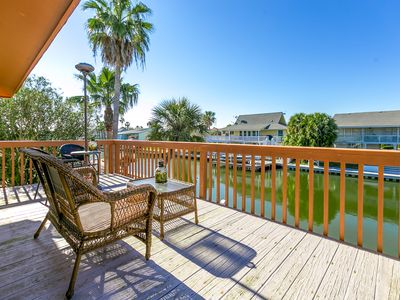 Photo for Bring Your Boat! Key Allegro 3BR Bay House w/ Dock, Sleeps 8