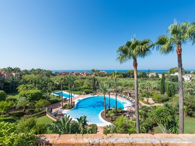 Photo for Amazing 2 bedroom apartment next to Marbella's best beach