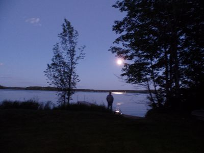 Photo for 3,227 acre lake,  private dock, 30 ft. from water. Clean and fully furnished.