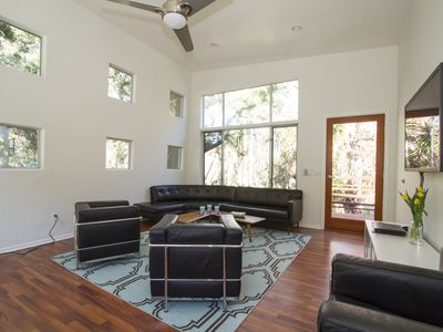 Photo for Chic & Private Malibu Guesthouse w/AC, Close To Beach And Hiking Trails