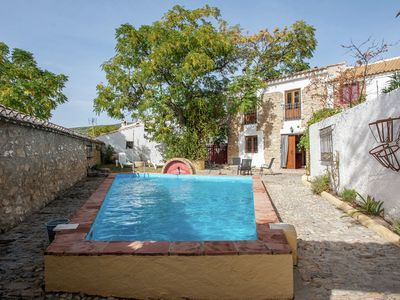 Photo for Restored mill with private swimming pool on a property in Algarinejo,  Granada